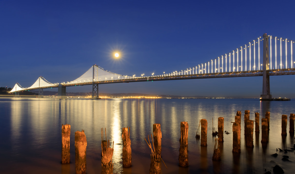 Bridge-veiw-Oakland-California