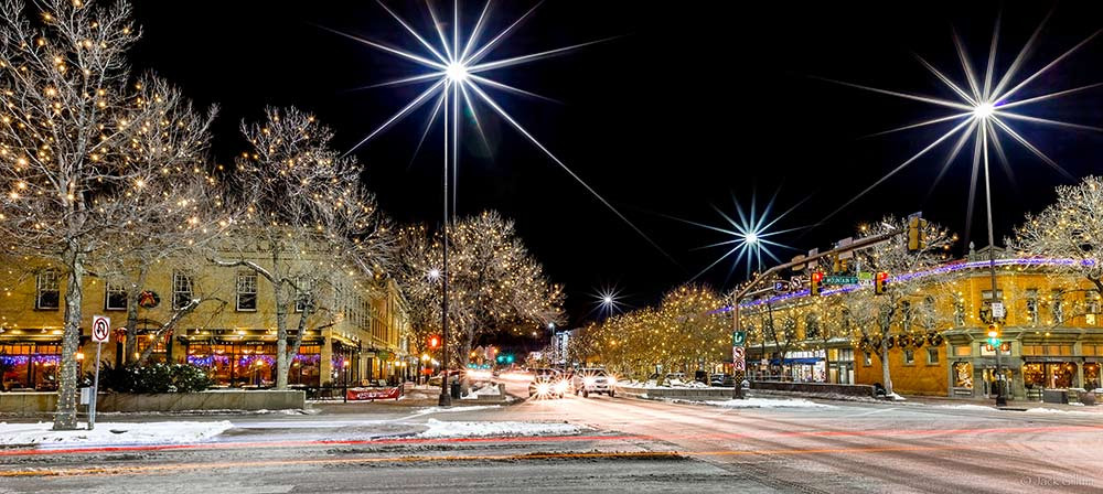 Fort Collins-winter-night