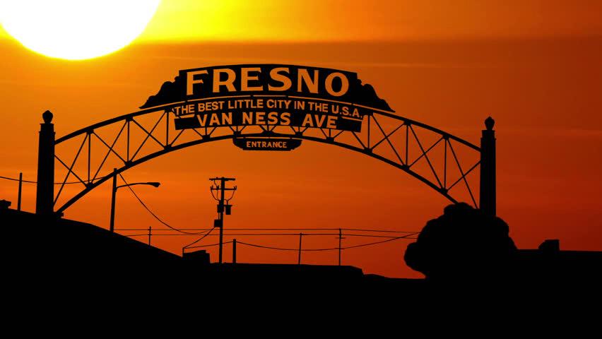 Fresno-sunset