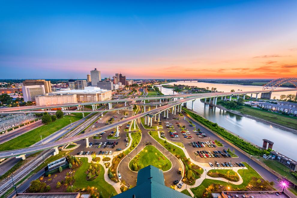 Memphis-aerial-view