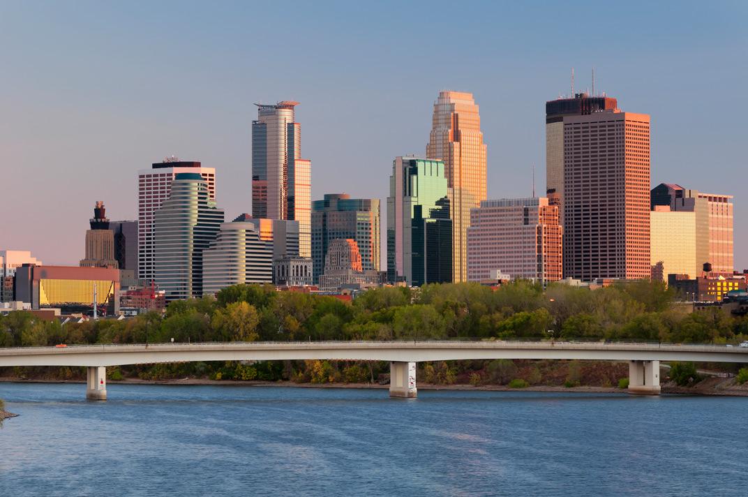Minneapolis-Minnesota-downtown-view