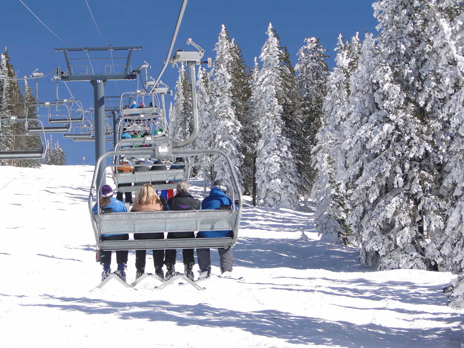 Steamboat Springs-chairlift