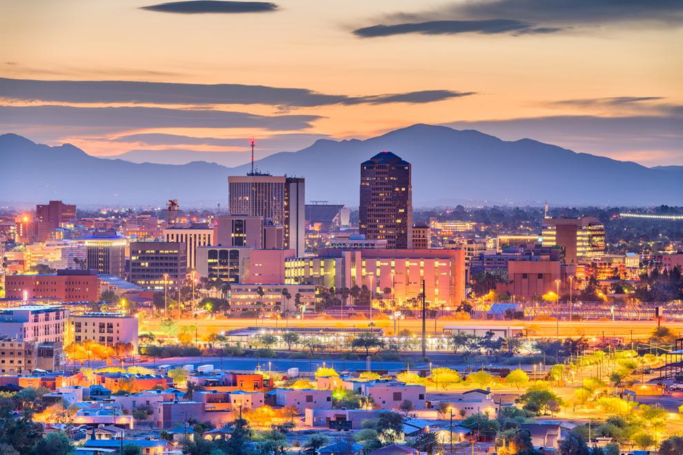 Tucson-at-night