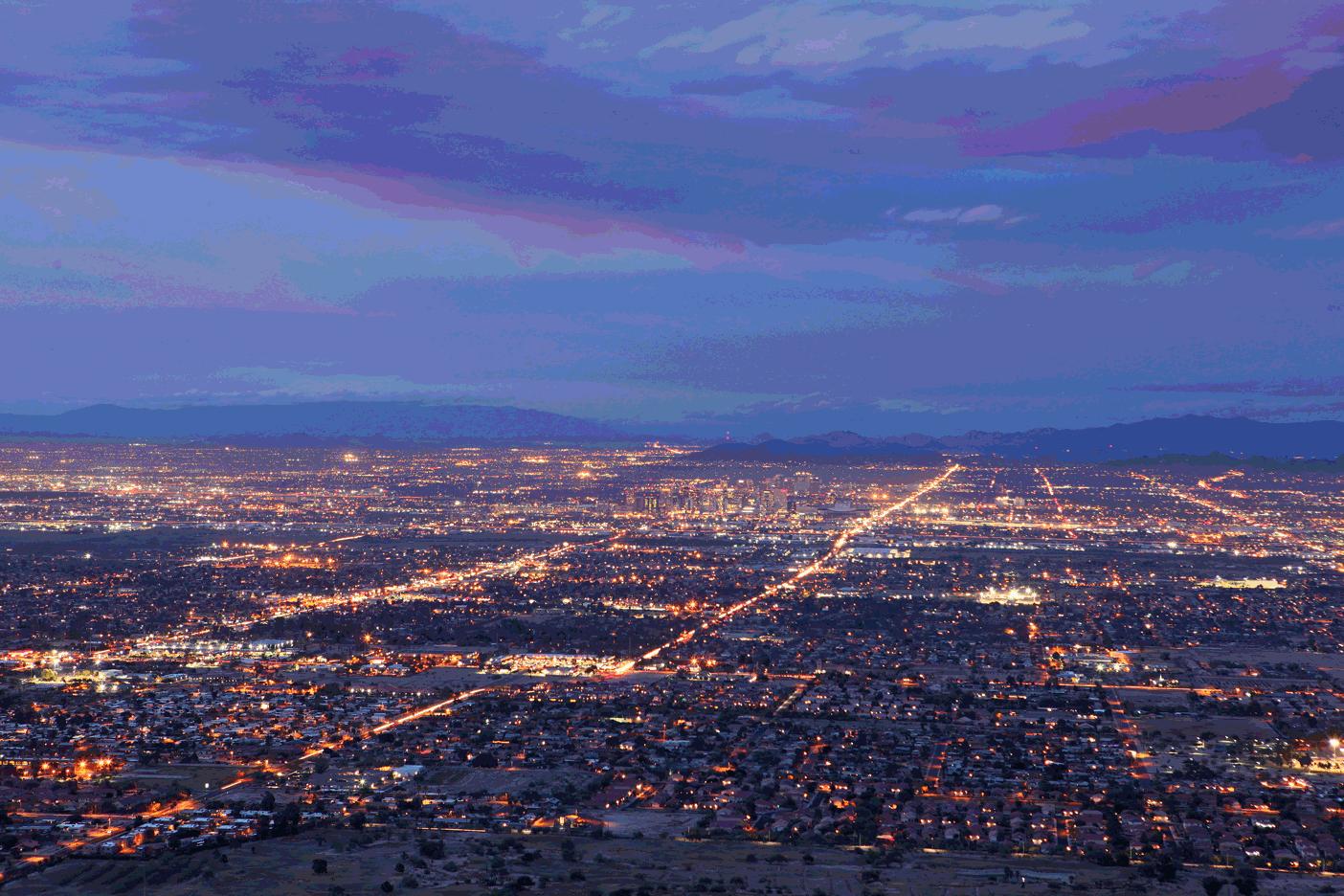 phoenix-at-night
