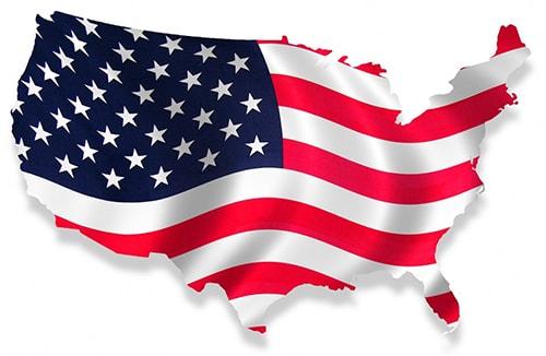 USA-flag-map